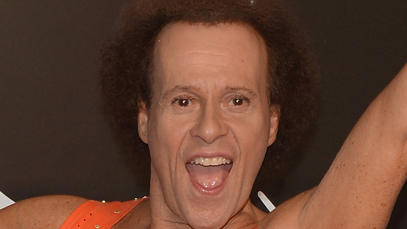 Richard Simmons denies bonkers story about being held captive in his own home.