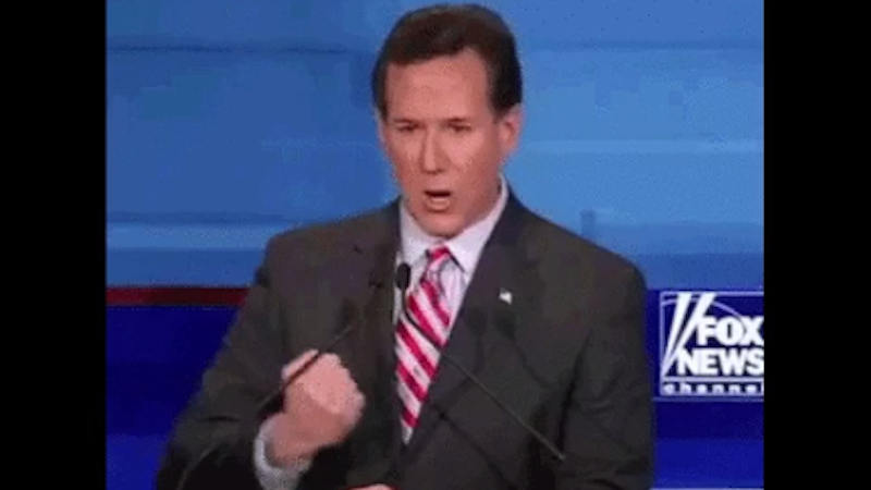 The best GIF to come out of the GOP primary debate thus far.