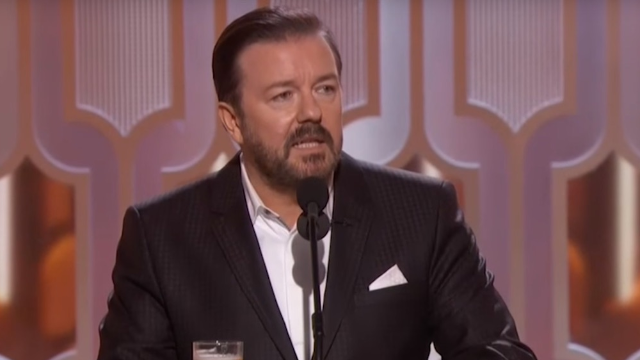 Ricky Gervais is really not sorry for that controversial Caitlyn Jenner joke at the Golden Globes.