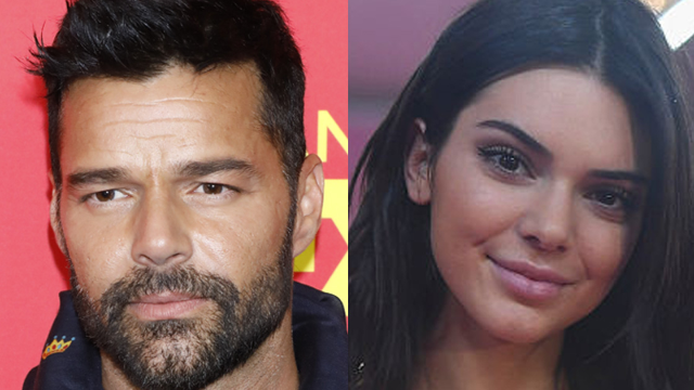 Throwback pic of Ricky Martin bears eerily strong resemblance to Kendall Jenner.