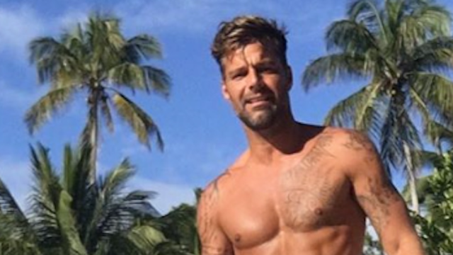 Ricky Martin shared a shirtless photo of him in a Speedo and it's indescribably beautiful.