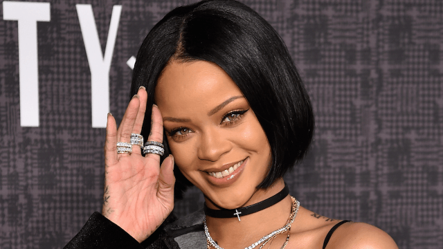 Wait, Rihanna's Coachella outfit is kind of terrifying.