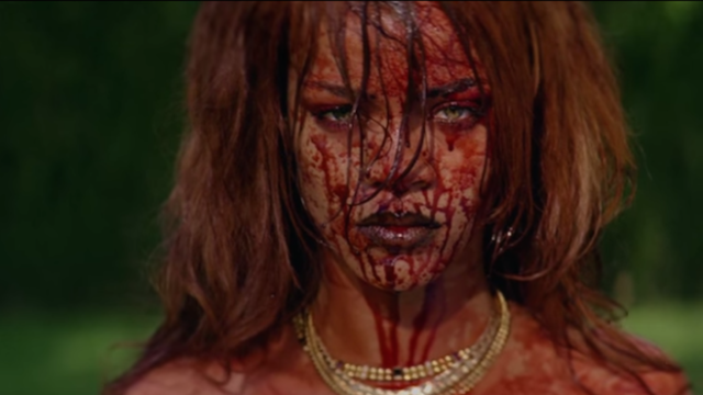 Rihanna directed a crazy-NSFW video for 'Bitch Better Have My Money.' Here it is.