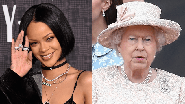 Rihanna responds to haters offended by her Instagrams of the Queen by doing it again.