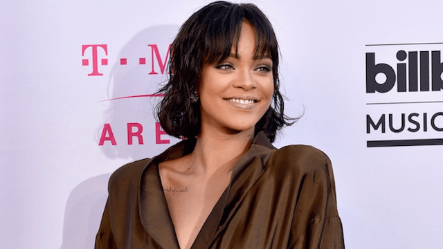 Rihanna threw some not-so-subtle shade at her exes on Instagram.