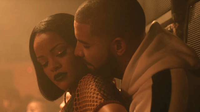 Rihanna has been sneaking into Drake's hotel room. Are they a thing again?