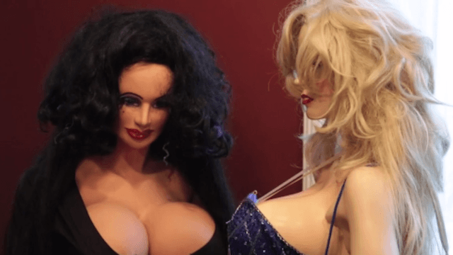 Man dies, leaving behind collection of busty mannequins. We all have a thing.
