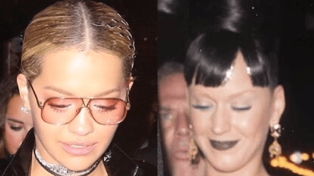 Rita Ora and Katy Perry put to rest rumors that they're Becky by using a trendy accessory.