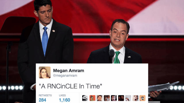RNC Day 2: Social media reacts to Paul Ryan, Chris Christie, the Trump kids, and more.