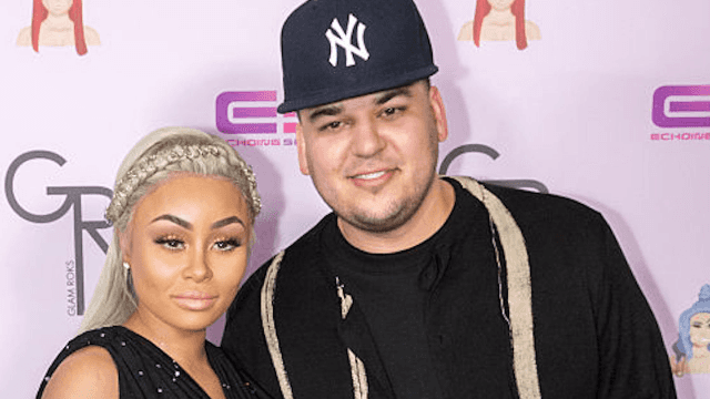Rob Kardashian leaked Blac Chyna's nudes and sh*t's getting ugly.