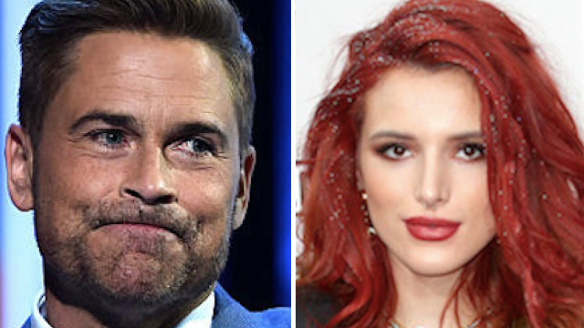 Rob Lowe slams Bella Thorne for highly tone-deaf tweet about the California mudslides.