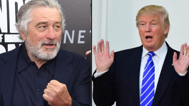 Robert De Niro ripped into 'f*cking idiot' Donald Trump with savage nickname.