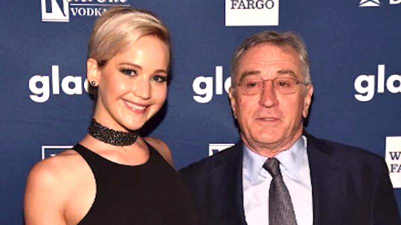 Robert DeNiro suggests he'd date Jennifer Lawrence, with one caveat.