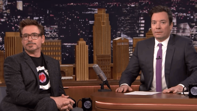 Robert Downey Jr. gave Jimmy Fallon acting lessons. If you've seen 'Taxi,' you know how that goes.