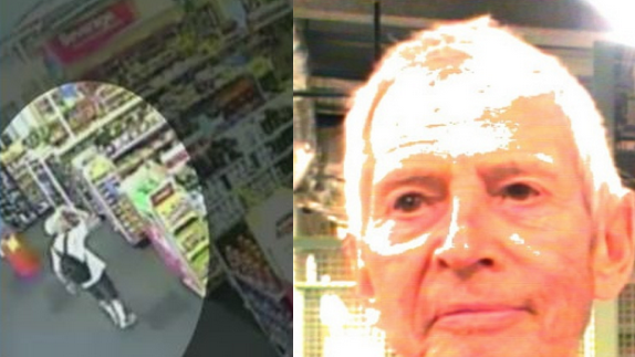 Robert Durst filmed doing something only slightly less weird than muttering about murders.