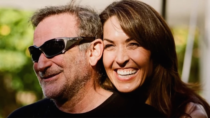 Robin Williams's widow gave an interview to clear up misconceptions about his suicide.