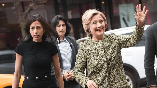 Just a Trump ally and Alex Jones discussing Clinton aide Huma Abedin's genitals.