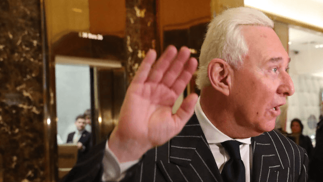 Trump advisor Roger Stone went on a bigoted Twitter rant. Here's what he deleted.