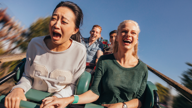 48 rollercoaster photos that will take you on one hell of a ride.