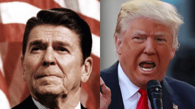 Ronald Reagan's daughter slams Trump by reminding him someone shot her dad.