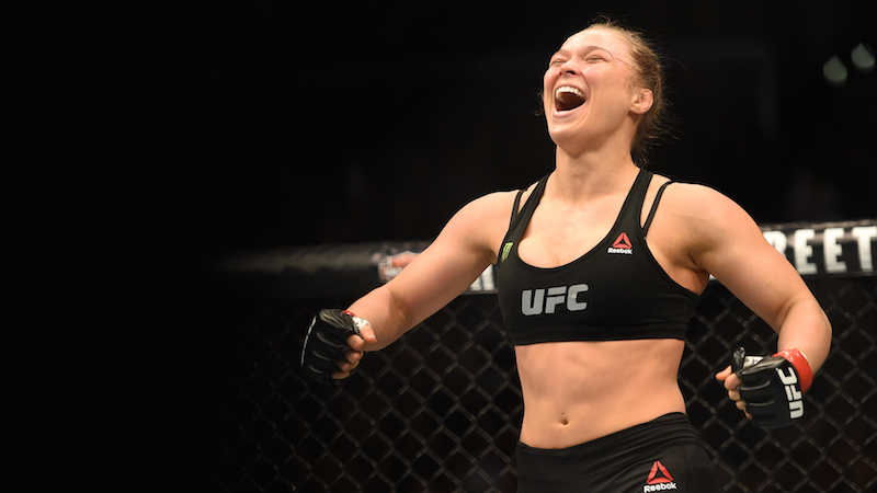 Ronda Rousey will reprise a badass Patrick Swayze role.