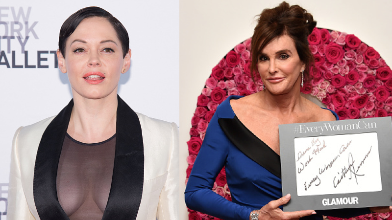 Rose McGowan wrote an angry letter to Caitlyn Jenner about that Woman of the Year award.