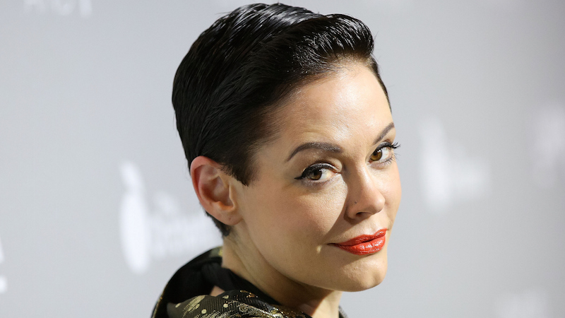 Rose McGowan pulled a Britney Spears.