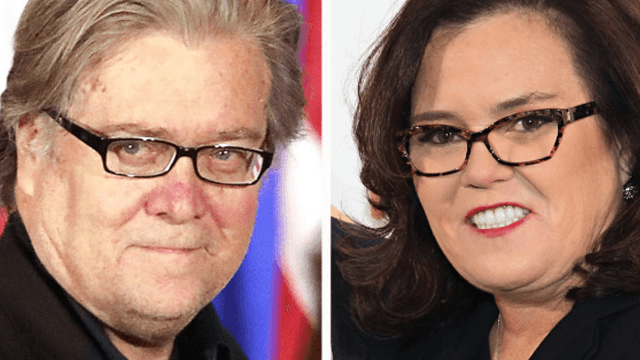Rosie O'Donnell channels Steve Bannon in haunting new profile pic, internet loses its mind.