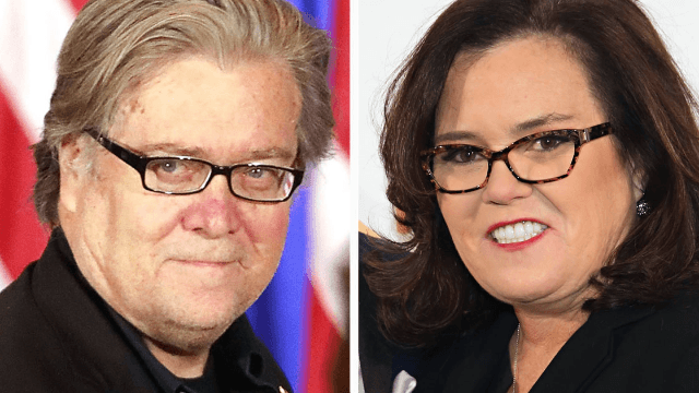 Here's why Rosie O'Donnell told the internet she's 'ready' to play Steve Bannon on 'SNL.'