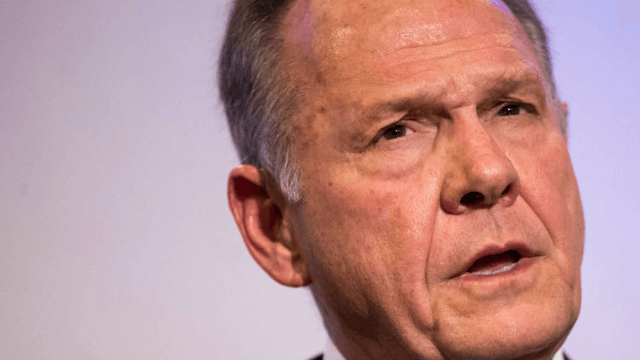 Roy Moore has a new ad featuring six unnamed women vouching for him. Yikes.