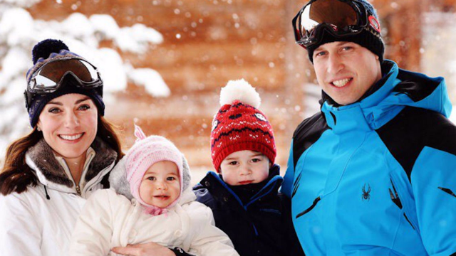 Royal Family releases adorable family ski vacation pics. Reminder: they don't have jobs.