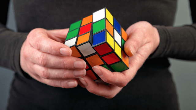 Here's a five-step guide to solving Rubik's Cubes even you can follow.