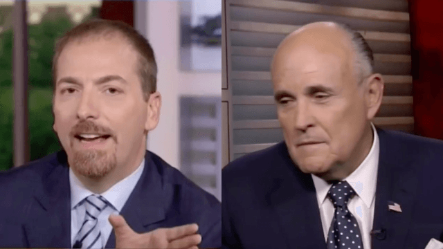Rudy Giuliani goes on 'Meet The Press' to get his humiliating reward for backing Donald Trump.