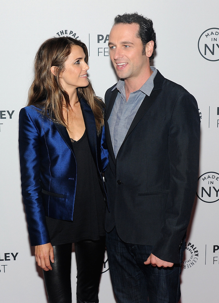 Super secretive spies Keri Russell and Matthew Rhys had their baby last week.
