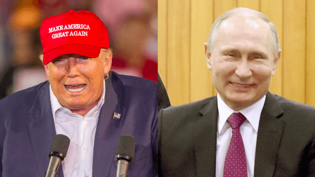 Russia just gave Trump the most Trump gift ever, because that's what BFF are for.