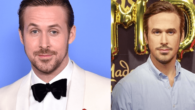 Ryan Gosling's new wax figure is both creepy and undeniably handsome.