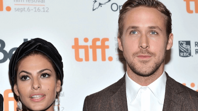 An even more attractive celebrity couple, Ryan Gosling and Eva Mendes, have secretly wed to fill the Brangelina void.