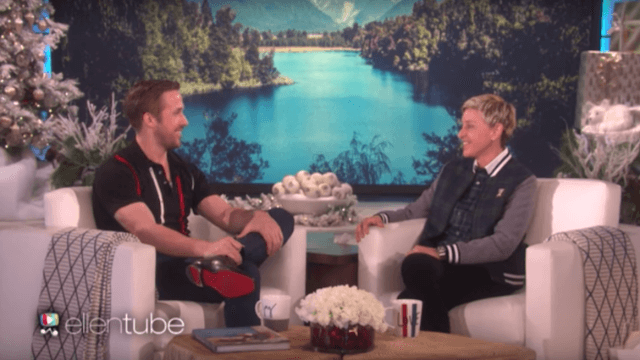 Ryan Gosling has a deep emotional connection to his Roomba.