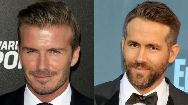 Ryan Reynolds and David Beckham are 'flirting' on Instagram