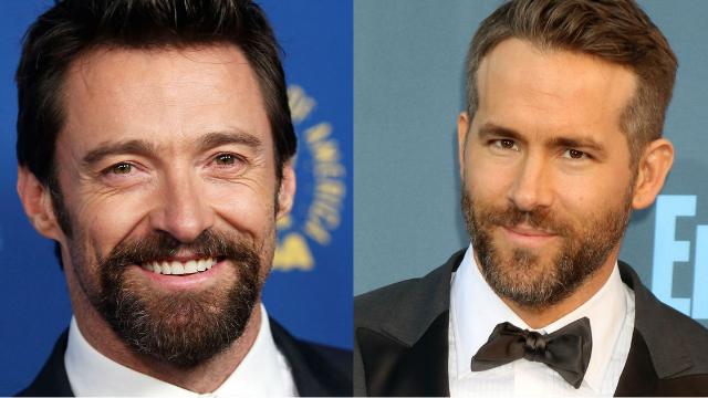 Ryan Reynolds had the sassiest response to Hugh Jackman's throwback photo of them as children.