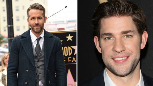 Ryan Reynolds and John Krasinski are bantering on Twitter, and it's pure gold.