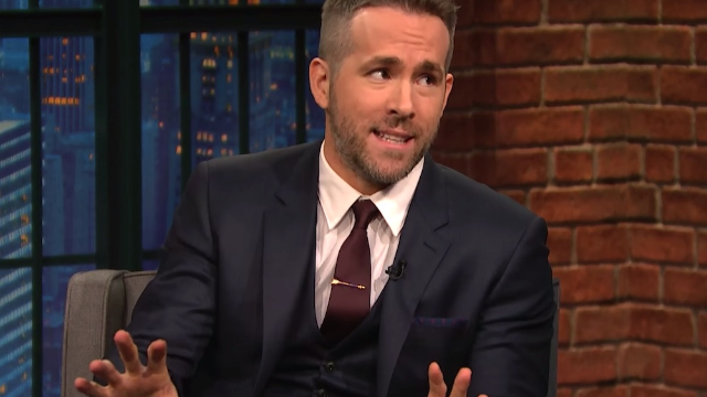 Ryan Reynolds is everyone's dream husband, except when you're in labor with his baby. Then it's very annoying.