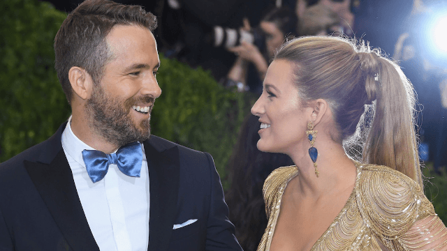 Blake Lively says Ryan Reynolds' tweets about their daughters are 'completely made-up.'