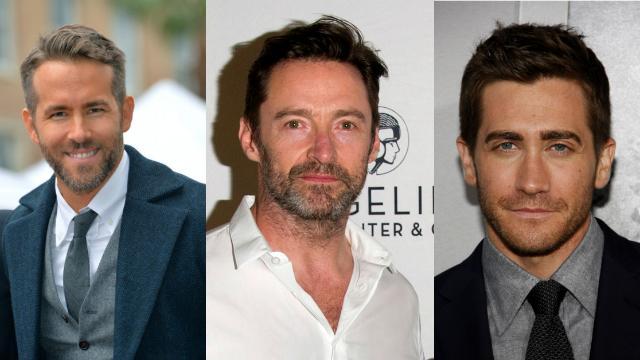 Ryan Reynolds got festively pranked by Hugh Jackman and Jake Gyllenhaal.