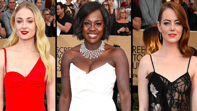The 14 best dressed screen actors at the 2017 SAG Awards.