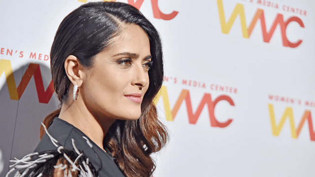 Salma Hayek says Trump planted fake tabloid story about her after she rejected him.