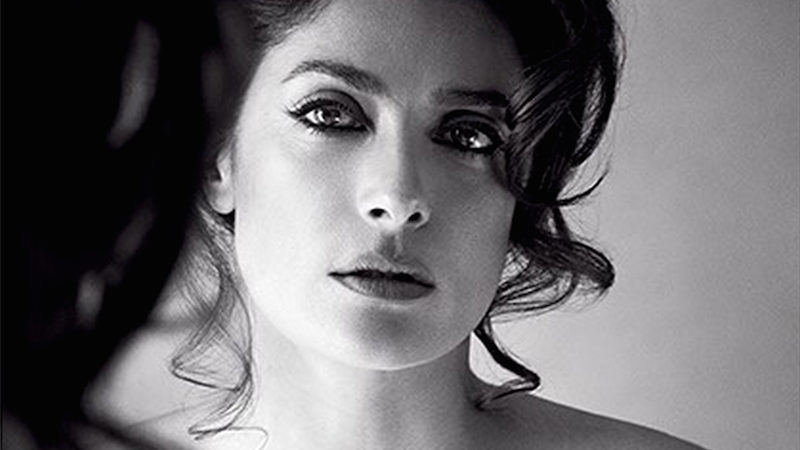 Salma Hayek's topless photoshoot at age 48 is probably making a lot of people jealous.