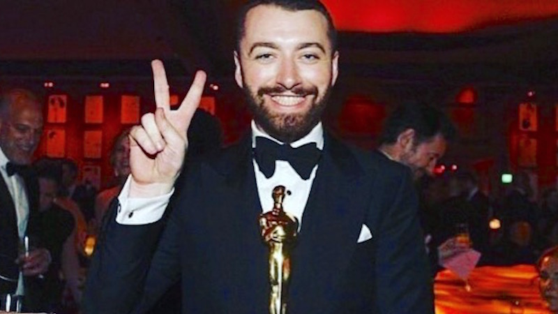 Sam Smith responds to Dustin Lance Black and the world about his factually shady Oscars speech.