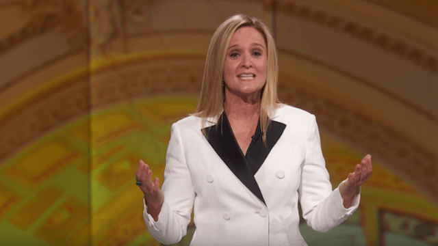 Watch Samantha Bee and friends tear Trump apart at the 'Not the White House Correspondents' Dinner.'