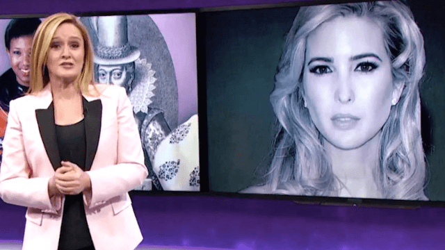 Samantha Bee perfectly sums up Ivanka Trump's role in 8 simple words.